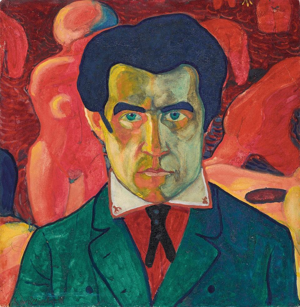 Kazimir Malevich, Self Portrait 1908-1910, Tate Modern