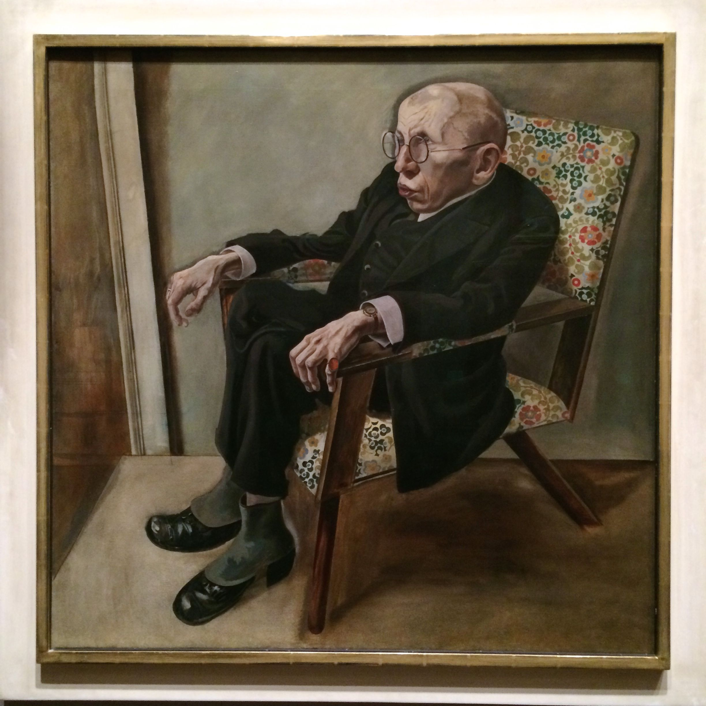 Portrait-of-the-Writer-Max-Herrmann-Neisse-by-George-Grosz-for ...