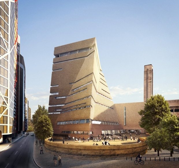 Tate Modern Extension, via The Guardian