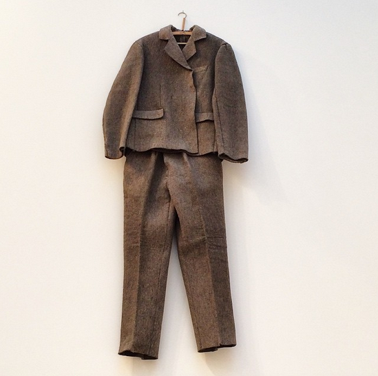 Joseph Beuys, Felt Suit (1970), via Art Observed