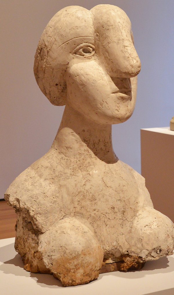 The Picasso Bust, via NYT