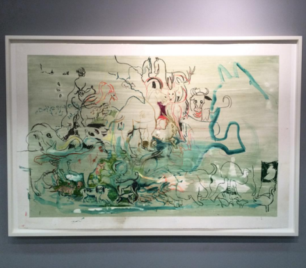 Cecily Brown at Two Palms, via Art Observed