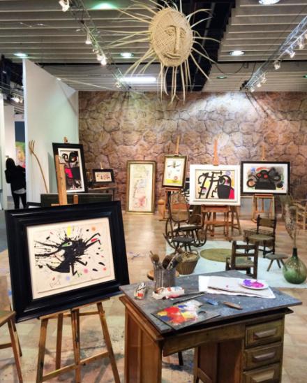 Joan Miro at Galerie Mayoral