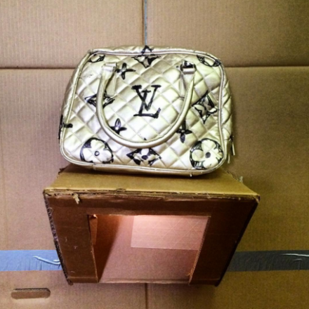 Alfie Steiner's Bootleg Louis Vuitton, via Art Observed