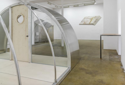 Oscar Tuazon, Shelters (Installation View)