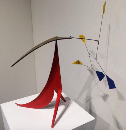 Alexander Calder at Maxwell Davidson, via Art Observed