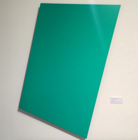 Ellsworth Kelly at Mnuchin Gallery, via Art Observed