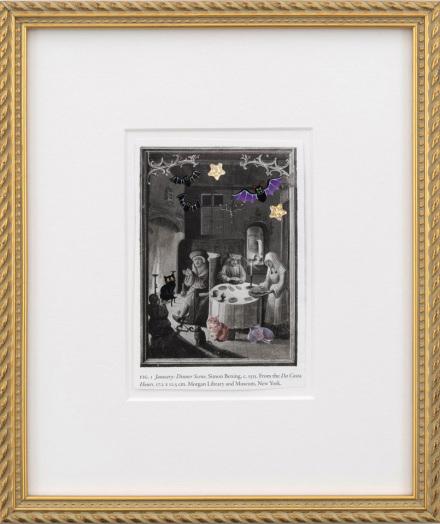 Karen Kilimnik, medieval dinnertime (2015), via 303 Gallery