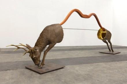 Huang Yong Ping, L'Arc de Saint-Gilles (2015), via kamel mennour