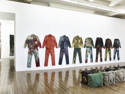 Sterling Ruby, Work Wear (Installation View, via Sprüth Magers