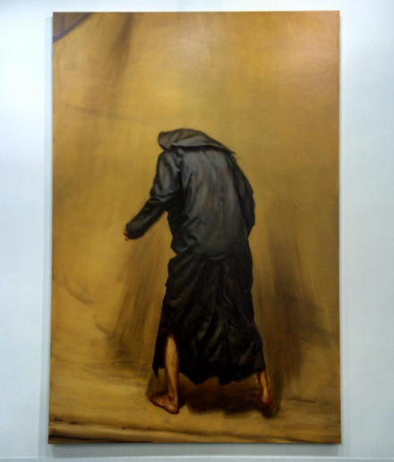 Michaël Borremans, The Shaker (2015)