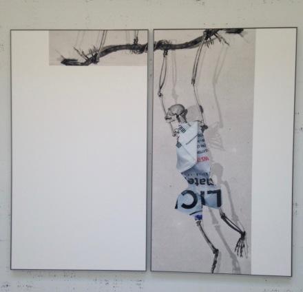 Michael Riedel, Untitled (Art Material Hylobatidae),  2015