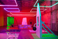 Alex Da Corte at Mass MOCA, via NYT