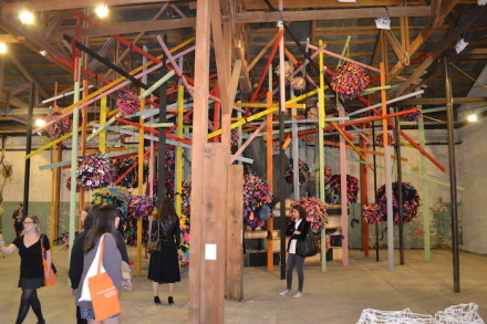 Phyllida Barlow, untitled GIG, pianogrameandcover 2014-15