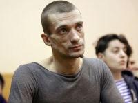 Pyotr Pavlensky, via Artforum