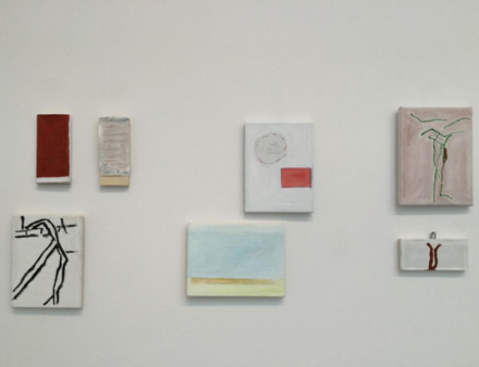 Raoul De Keyser, Drift (Installation View), via Art Observed