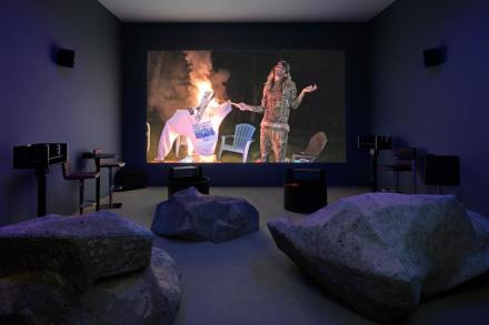 Lizzie Fitch/Ryan Trecartin, (Installation View)