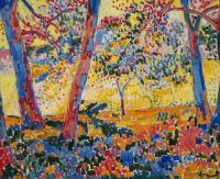 Maurice Vlaminck, sous bois, via Sotheby's