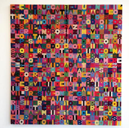 Alighiero Boetti, Oggi Ventiduesimo giorno dell'ottavo mese dell'anno millenovecentootantotto (1988), via Art Observed