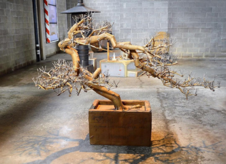 Tom Sachs, Bonsai (2016), via Art Observed