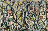 Jackson Pollock's Mural, via Guardian