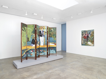Hernan Bas, Bright Young Things at Lehmann Maupin (Installation View)