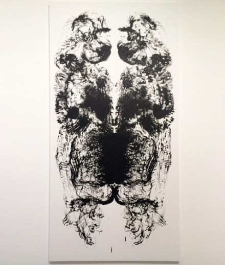 Mark Wallinger, Id Painting 7 (2015), via Art Observed