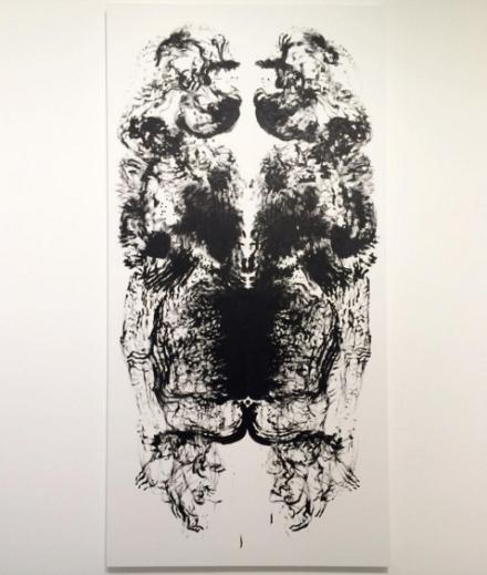 Mark Wallinger, Id Painting 7 (2015), via Art Observed