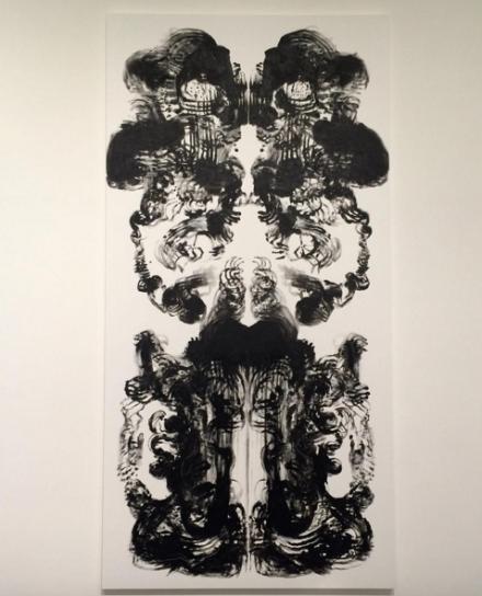 Mark Wallinger, Id Painting 36 (2015), via Art Observed