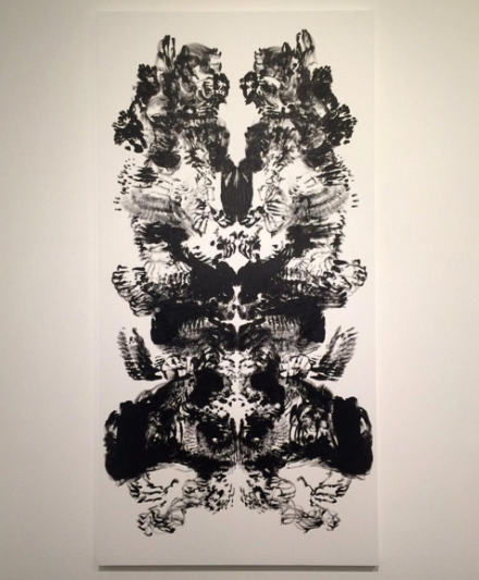 Mark Wallinger, Id Painting 50 (2015), via Art Observed