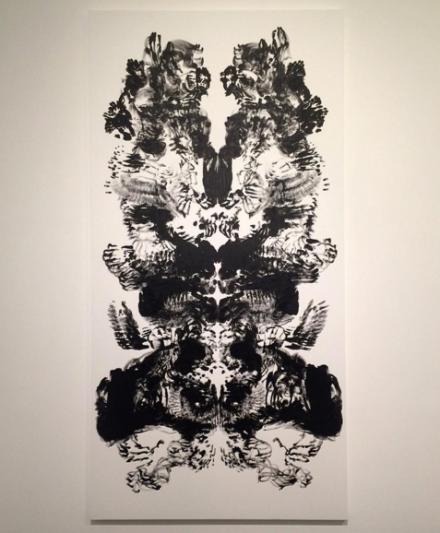 Mark Wallinger, Id Painting 50 (2015), via Art Observed