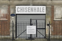 The shuttered Chisenhale Gallery, via Art Newspaper