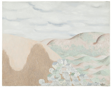 David Byrd, Mountains and Shadows (2003), via Zieher Smith & Horton