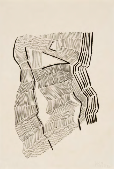 Gego, Sin título, (1958), via Dominique Levy