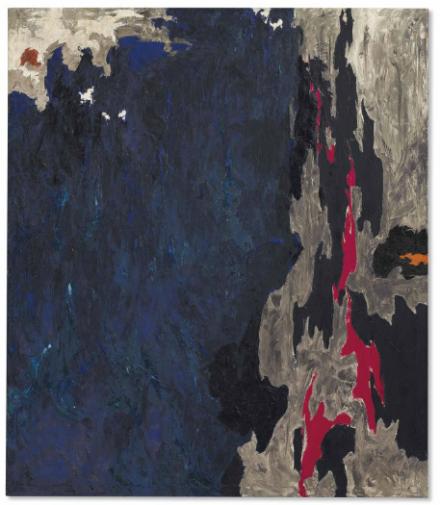 Clyfford Still, PH-234 (1948), via Christie's