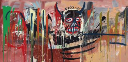 Jean-Michel Basquiat, Untitled (1982), via Christie's