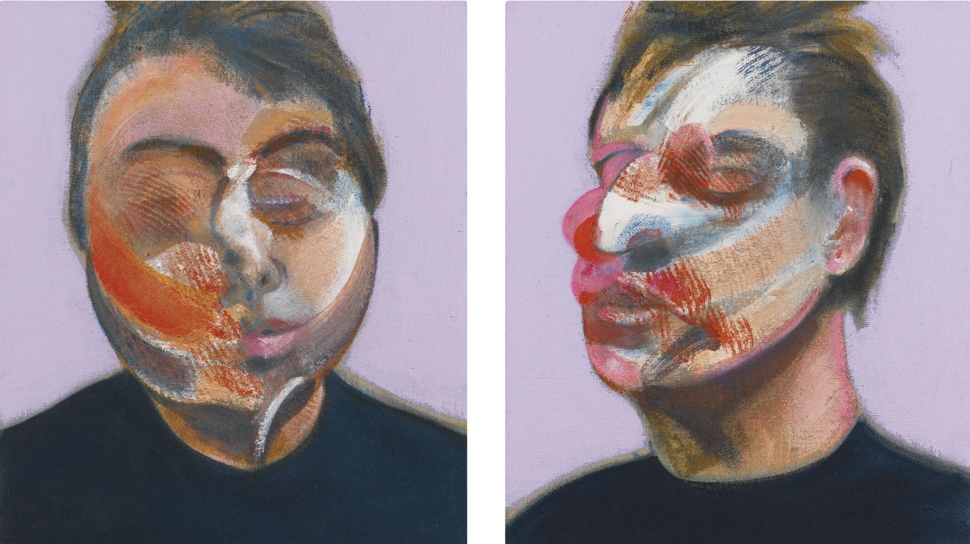 bacon portraits and self portraits