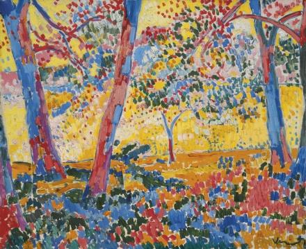 Maurice de Vlaminck, Sous-Bois (1905), via Sotheby's