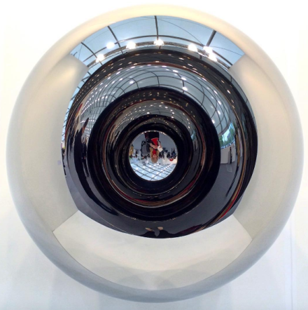 Anish Kapoor, Alice - Circle (2014), via Art Observed
