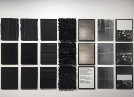 Joel Andrianomearisoa at Sabrina Amrani, via Art Observed