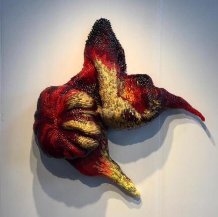 Frances Goodman at Richard Tattinger, via Art Observed