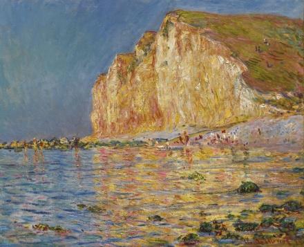 Claude Monet, Marée Basse Aux Petites-Dalles (1884), via Sotheby's