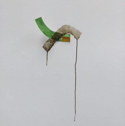 Richard Tuttle, Titel 3 (1978), via Art Observed