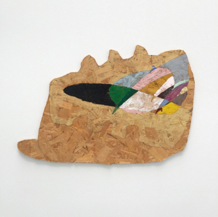 Richard Tuttle, Waferboard 11 (1996), via Art Observed