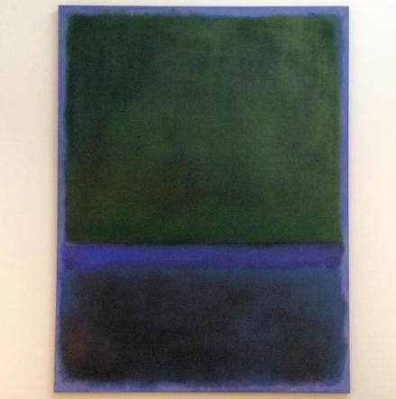 Mark Rothko, Number 17 (1957),  via Art Observed