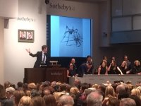 Louise Bourgeois's Spider sells at Sotheby's, via Art Observed
