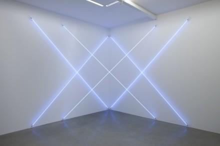 Francois Morellet, Triple X neonly (2012), via Kamel Mennour