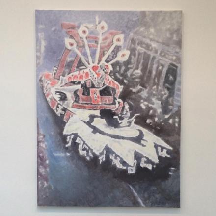 Luc Tuymans, Corso I (2015), via Art Observed