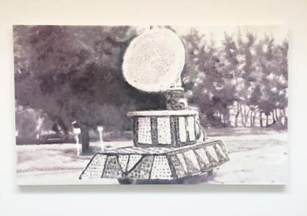 Luc Tuymans, Corso III (2015), via Art Observed