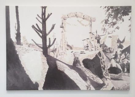 Luc Tuymans, Corso IV (2015), via Art Observed